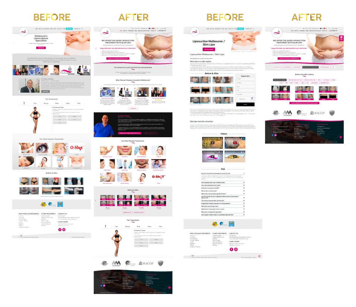 case study dr attalla before after