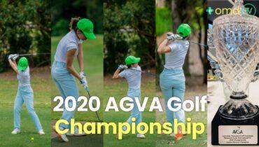 Huyen Truong Won 2020 AGVA Golf Championship